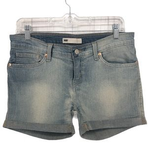 "Levi's Jean Shorts | Light Wash Red Tab 33"" Waist"